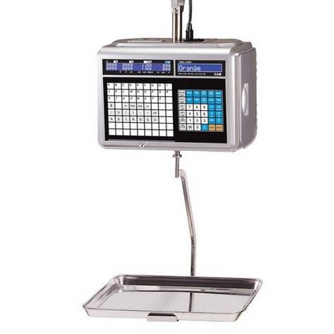 Весы торговые CAS CL5000J-IH 15 кг с термопечатью, фото 2