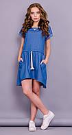 Инди. Джинсовое платье. Джинс.
