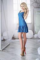 Платье Летнее джинсовое голубое