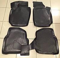 Коврики автомобильные для Volkswagen Polo 5 sedan 2010- (Лада Локер)