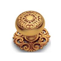 Мебельная ручка Salice Paolo 429 C POV, цвет античное золото