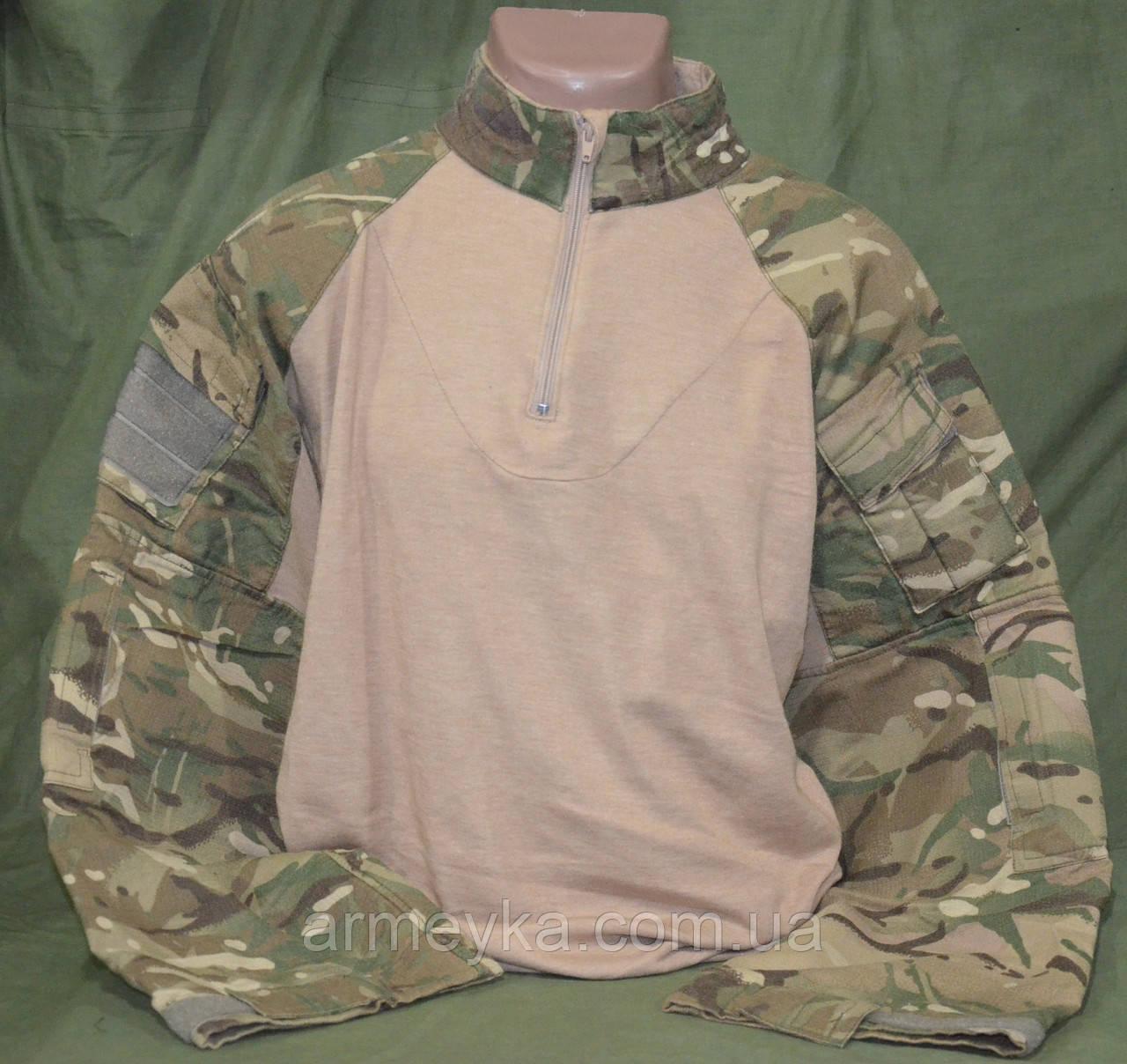 UBACS (боевая рубашка) огнеупорный Flame Resistant в расцветке MTP. Великобритания , оригинал