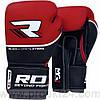 Боксерские перчатки RDX Quad Kore Red-10oz
