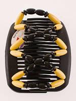 Заколка для волос African butterfly Beada 003 коричневая