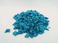 Кольоровий декоративний гравій (щебінь, крошка) Голубой