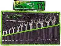 Набор рожковых ключей Alloid 6х7 - 30х32 мм 12 предметов (НК-2051-12)