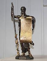 Статуэтка Veronese Гиппократ 34 см 76078A5, несменный символ в медицине