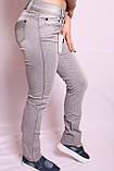 Жіночі літні джинси великого розміру, фото 3