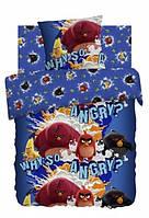 Детское постельное белье Злые птички Энгри Бердс 100% хлопок ТМ Непоседа Angry Birds