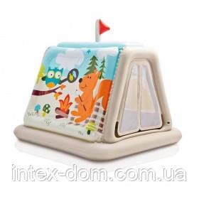 """Детский игровой центр """"Звериный лагерь"""" Intex 48634 127x112х116 см, 3-8 лет, Intex"""