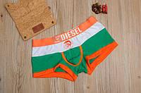 Мужские трусы боксёры Diesel, зеленые, фото 1