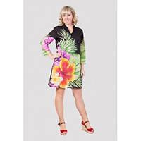 Очень красивое женское платье-туника в цветах