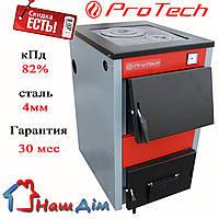 Котел твердотопливный ProTech ТТП-18 D Luxe (тайга з мм) (Протек, Протеч)
