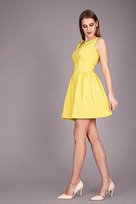 f0e9ebdab06a Яркий легкий летний женский сарафан желтого цвета   продажа, цена в ...