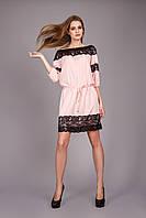 Гламурное женское платье до колена
