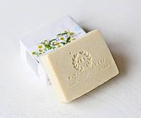 Органическое оливковое мыло ручной работы Ромашковое (детская серия E&A Pure Beauty), 120g., Греция