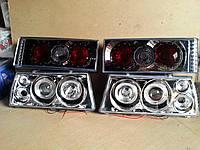 Передние фары+задние фонари на ВАЗ 2109 №23