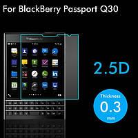 Бронированная защитная пленка (стекло) для BlackBerry Passport, Q30, 0,33 mm Глянцевая /накладка/наклейка /блекбери/Защитное стекло/закаленное стекло/