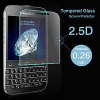 Бронированная защитная пленка (стекло) для BlackBerry Classic Q20, 0,26 mm Глянцевая /накладка/наклейка /блекбери/Защитное стекло/закаленное стекло/бр