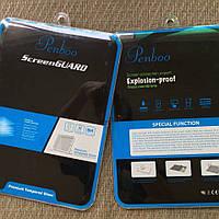 Бронированная защитная пленка (стекло) для iPad 2, iPad 3, iPad 4, 0,33 mm Penboo /накладка/наклейка /айпад/Защитное стекло/закаленное стекло/бронесте