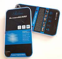 Бронированная защитная пленка (стекло) для Apple iPhone 4/4S, 0,33 mm, Penboo /накладка/наклейка /айфон/Защитное стекло/закаленное стекло/бронестекло