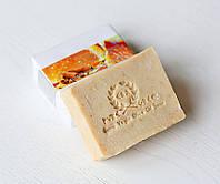 Органическое оливковое мыло ручной работы Апельсин & Корица (E&A Pure Beauty),120g., Греция, фото 1