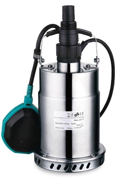 Насос дренажный Leo XKS-500S 0.5кВт Hmax 8м Qmax 167л/мин (нерж.)