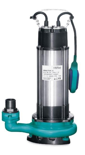 Насос дренажный Aquatica V1500F 1.5кВт Hmax 22м Qmax 270л/мин