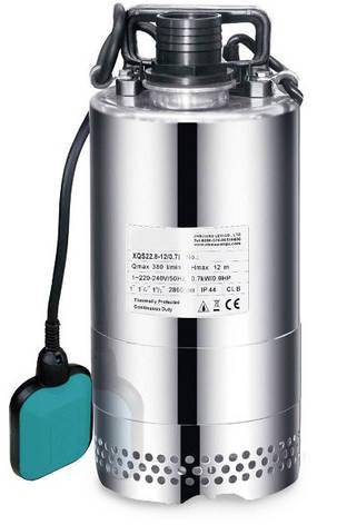 Насос дренажный Aquatica XQS13-9/0,35i 0.4кВт Hmax 9м Qmax 216л/мин (нерж.), фото 2