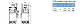 Насос дренажный Leo XKS-750SW 0.75кВт Hmax 8м Qmax 234л/мин (нерж.), фото 3