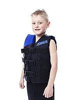 Детский спасательный жилет Progress Nylon Vest Youth Blue, фото 1