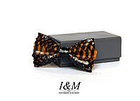 Кожаная галстук-бабочка (010851) Snake