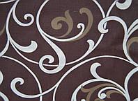 Простынь 220*240 двуспальная евро 5400 коричневый А