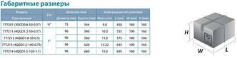 Насос шнековый Dongyin 4QGD1.2-100-0.75 0.75кВт H 154(76)м Q 30(20)л/мин Ø96мм (нерж.), фото 3