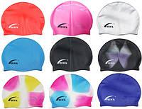 Детские и взрослые шапочки для плавания