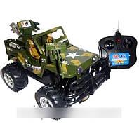 Машина-джип HQ 3010 / 3015 «Тайфун» на радиоуправлении (зеленая)