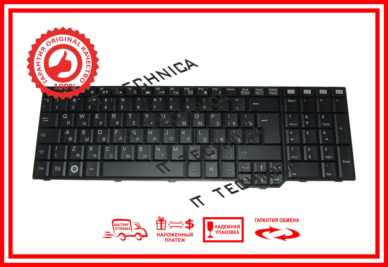 Клавіатура FUJITSU Amilo Li3910 Xi3650 оригінал