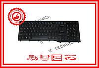 Клавиатура Fujitsu LifeBook AH552 черная без рамки