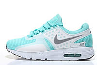Женские кроссовки Nike Air Max Zero бирюзовые, фото 1