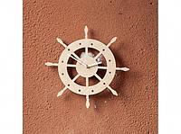 Деревянные часы Рулевое колесо