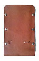 Чехол для мобильного кожаный коричневый тонкий ручная работа. KAG Leather Ч-101К