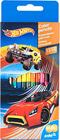 Карандаши цветные двусторонние Hot Wheels, 12 шт. / 24 цвета HW16-054