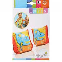 Нарукавники 56659 3-6лет 23х18см Intex