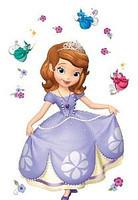 Вафельная картинка для тортов Modecor Принцесса София 5
