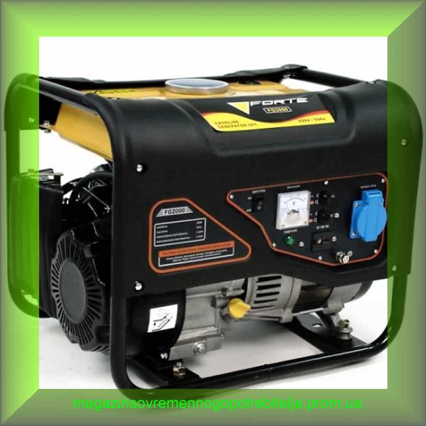 Электрогенератор бензиновый Forte FG2000