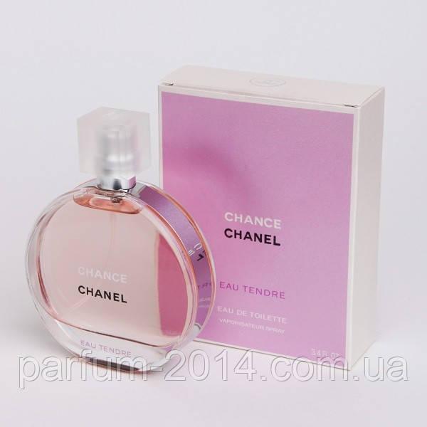 Женская туалетная вода Chanel Chance Eau Tendre + 10 мл в подарок (реплика)