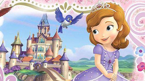 Вафельная картинка для тортов Принцесса София 8