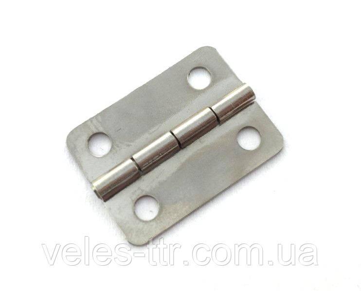 Петля для шкатулок сталь 24х19 мм 270° универсальная