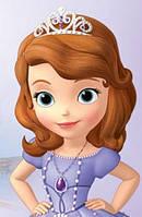 Вафельная картинка для тортов Принцесса София 21