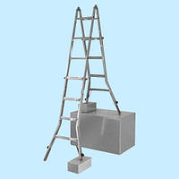 Универсальная телескопическая лестница-трансформер Krause Tele Vario 4x4  (4.2 м)